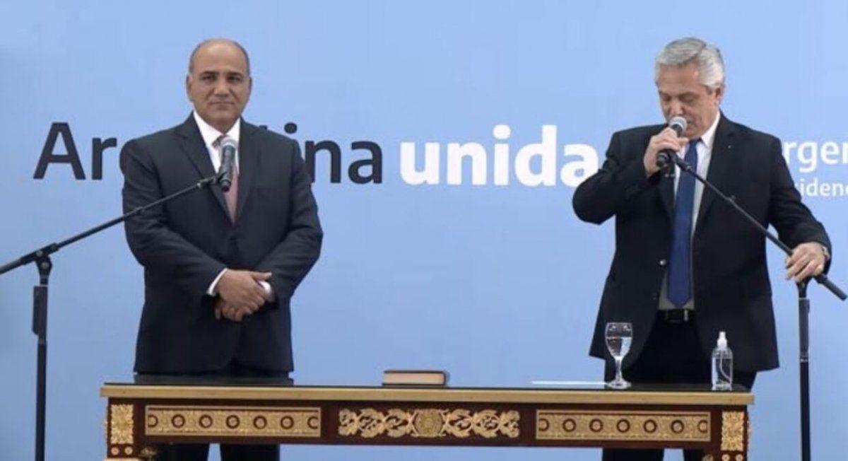 EN VIVO El Presidente le toma juramento a los nuevos ministros