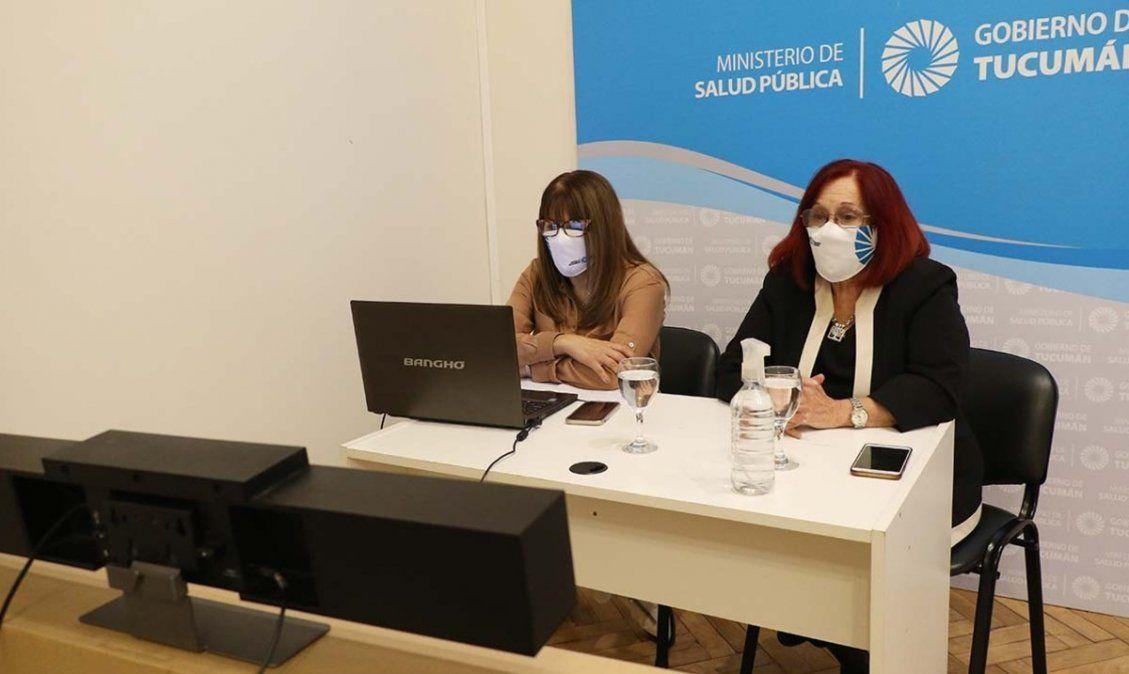 Capacitaron sobre inmunización a mujeres embarazadas. Foto: msptucuman.gov.ar