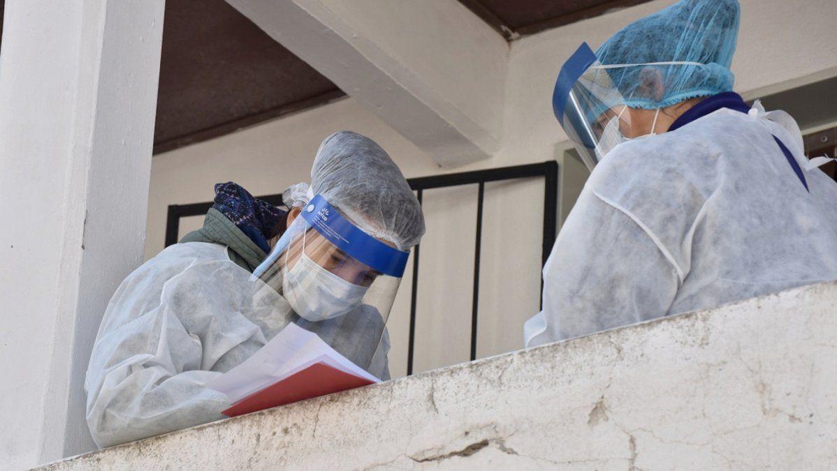 Récord de 7.147 casos de coronavirus en Argentina