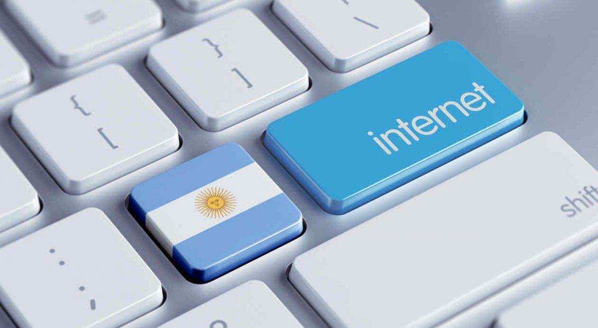 ¿Cuál es el estado del servicio de internet en Argentina?