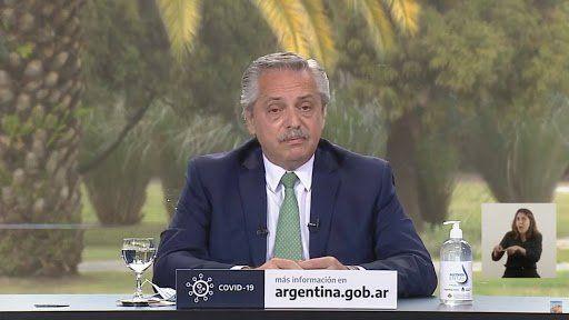 Alberto Fernández presentó el Programa Acompañar
