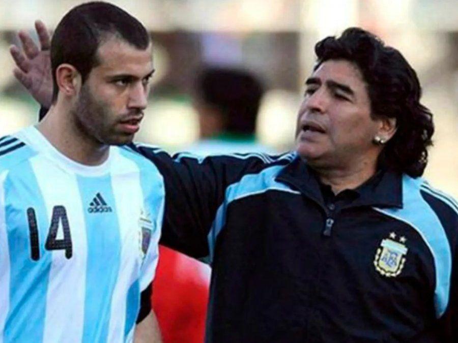 Mascherano, triste por los disturbios en el adiós a Maradona