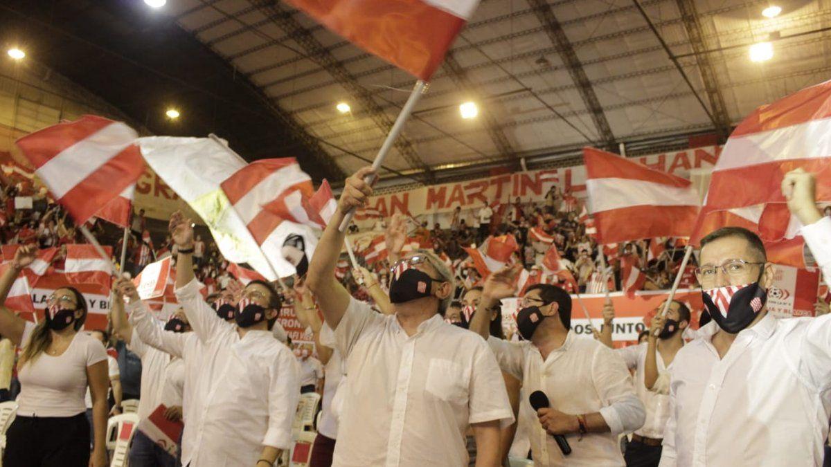 Elecciones en San Martín: presentaron la lista oficialista
