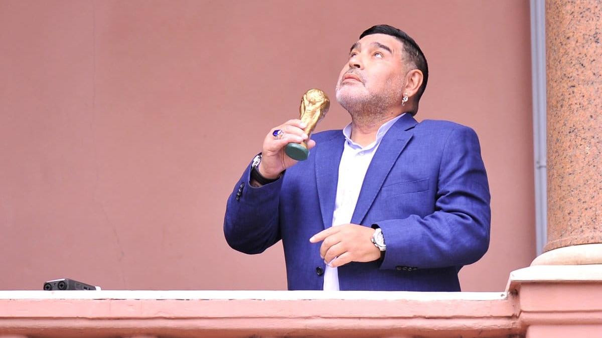 El velatorio de Maradona se realizará en Casa Rosada