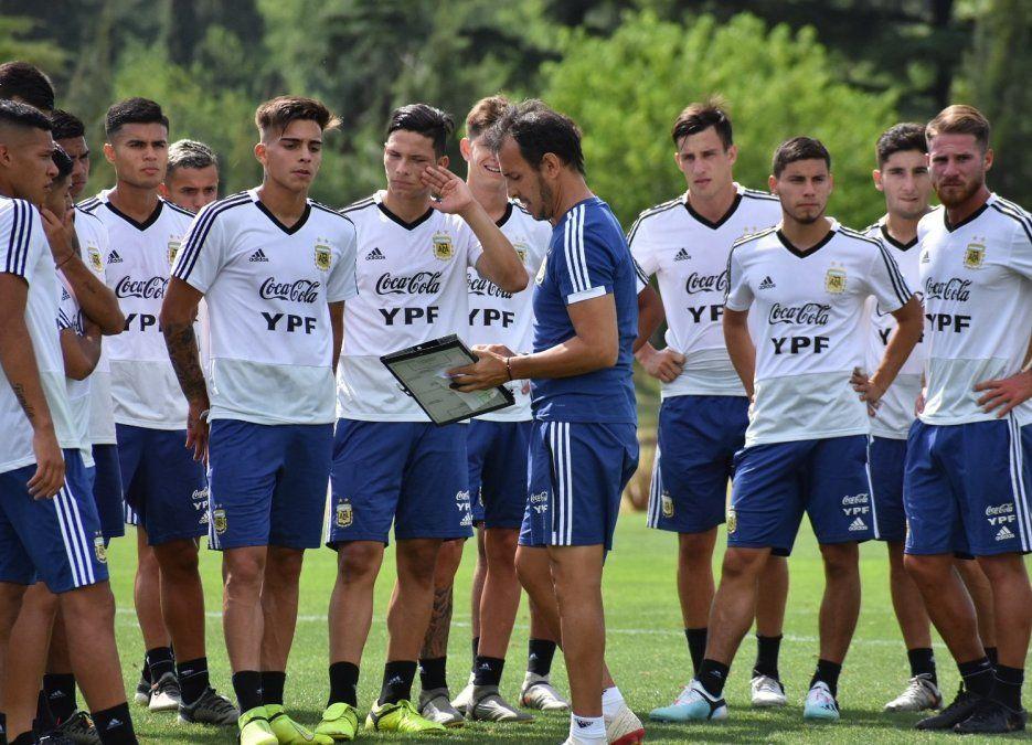 Dieron a conocer la lista de Argentina para el Preolímpico Sub 23