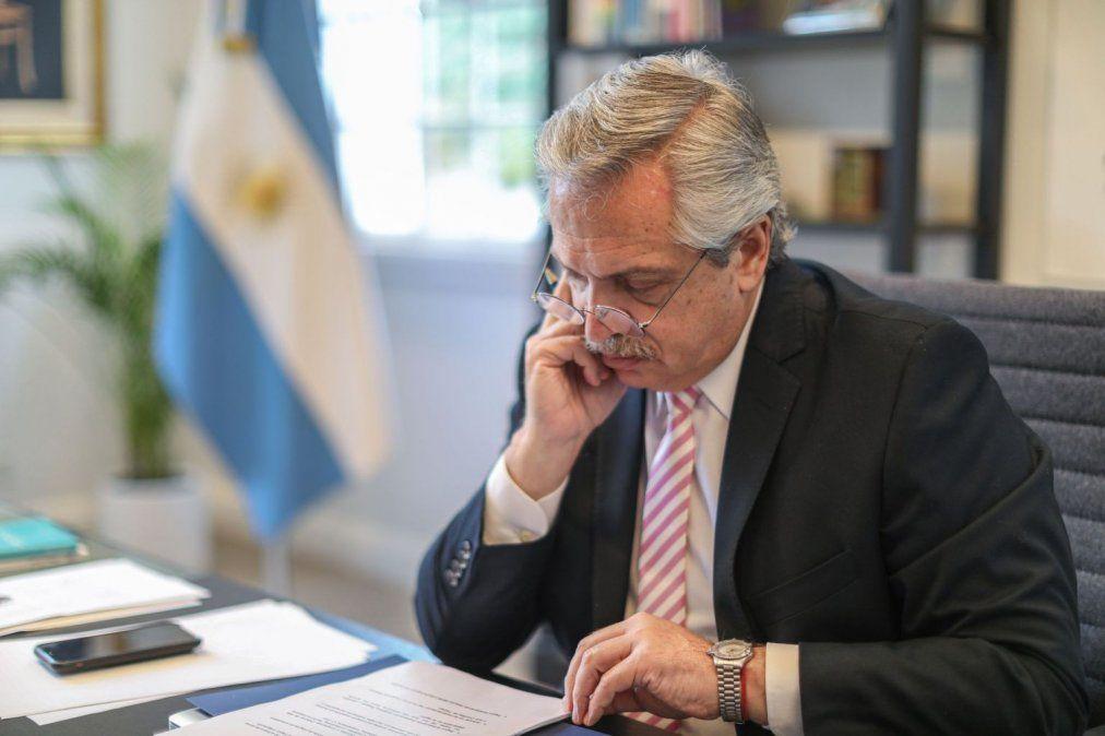 El presidente Alberto Fernández fue hisopado y dio negativo