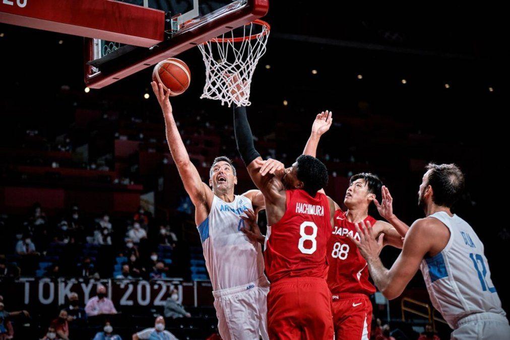 Argentina le ganó a Japón y clasificó a cuartos