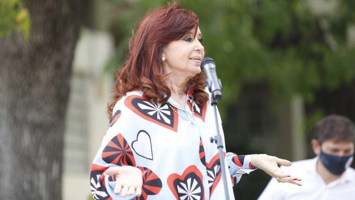 Cristina Kirchner repudió a un operador judicial del macrismo
