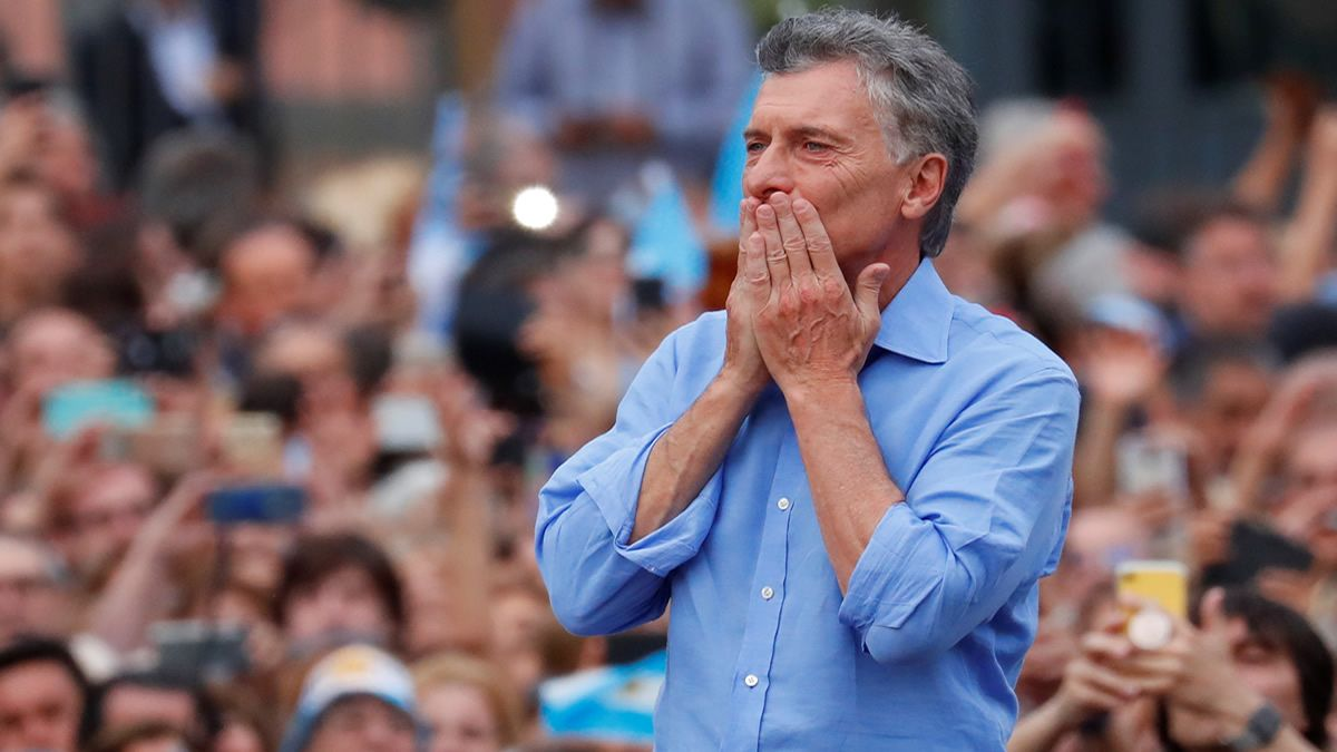 Mauricio Macri se despidió con algunas excusas sobre su gestión