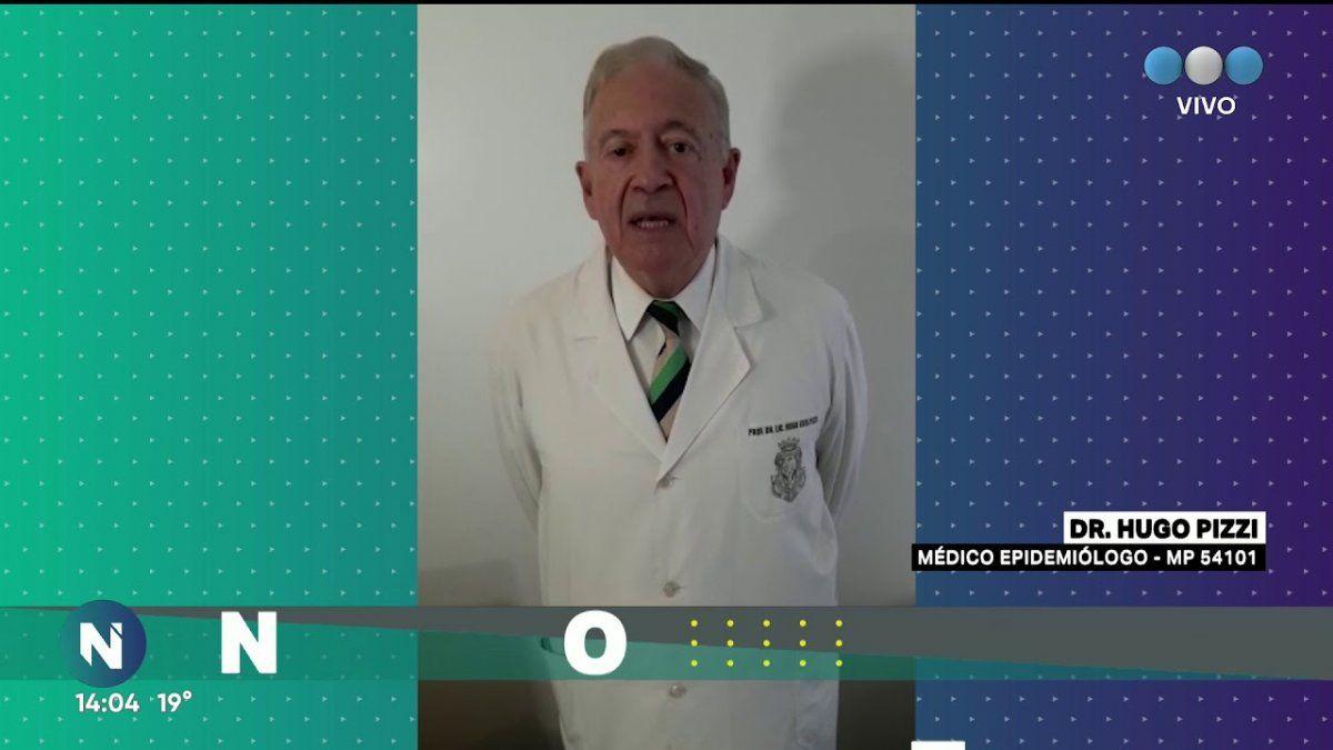Hugo Pizzi, reconocido médico infectólogo, habló sobre la actualidad de las vacunas y el coronavirus