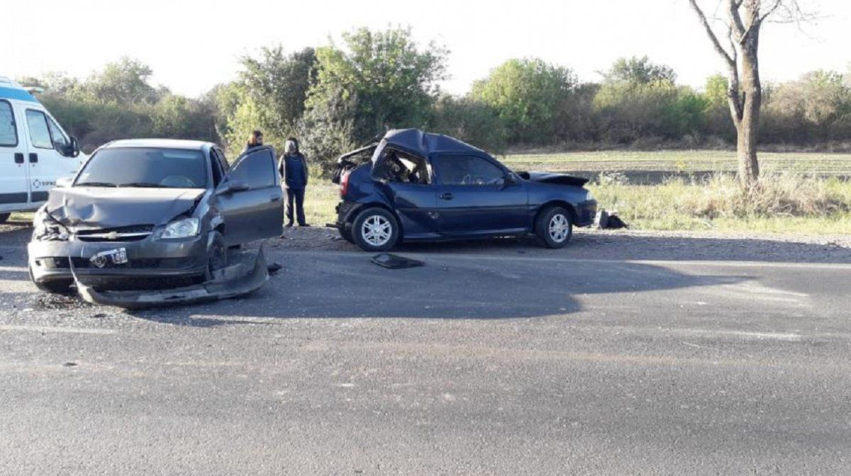 Accidente en la ruta 304: dos profesoras heridas