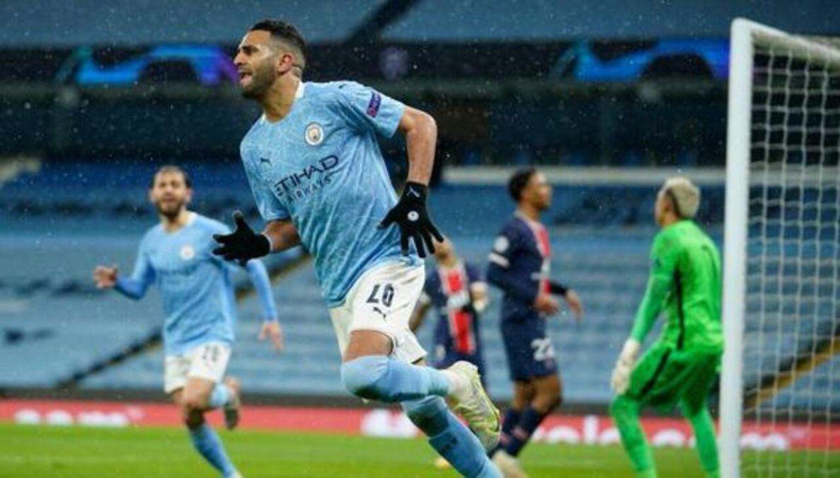 Manchester City eliminó al PSG y es finalista de la Champions