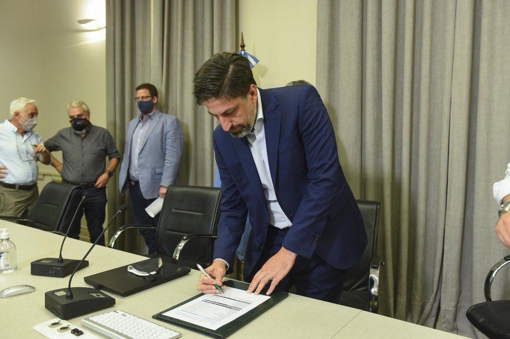 El Ministro Nicolás Trotta estuvo presente en la apertura de paritarias