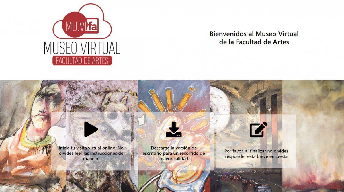 Cuarentena cultural: el Museo Virtual abre sus puertas