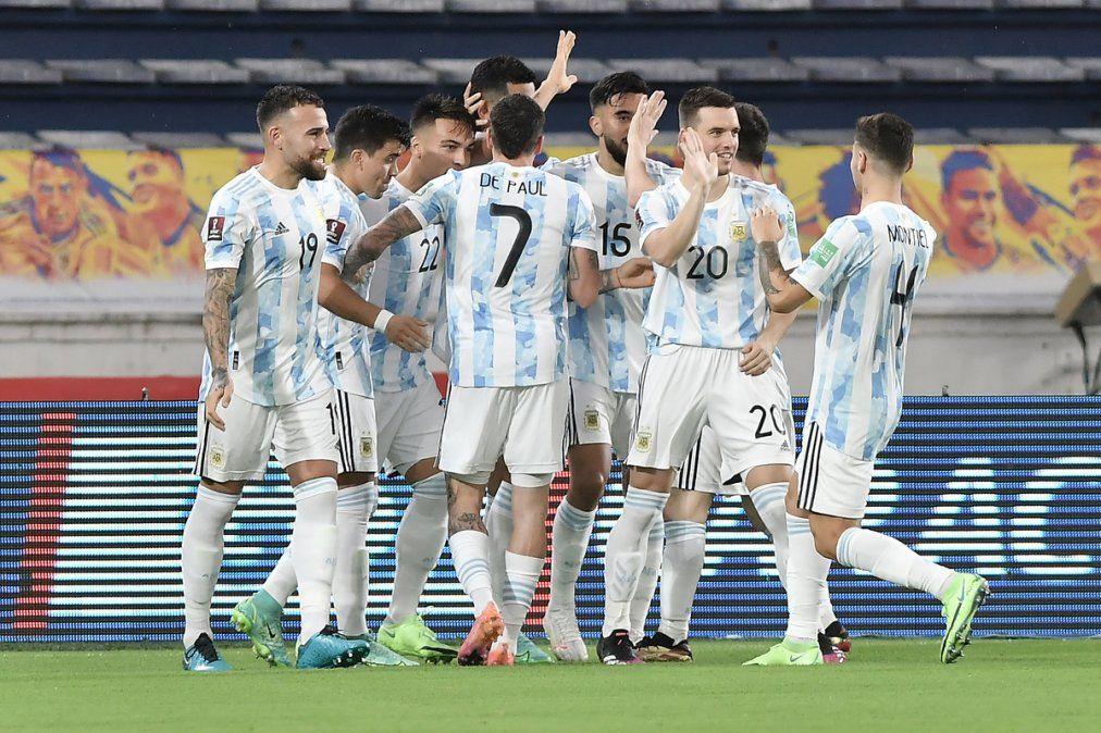 Argentina y un punto con gusto a poco: Fue 2-2 ante Colombia