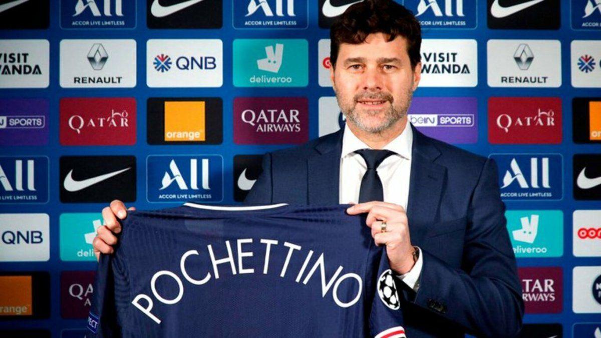 Mauricio Pochettino fue presentado en el PSG