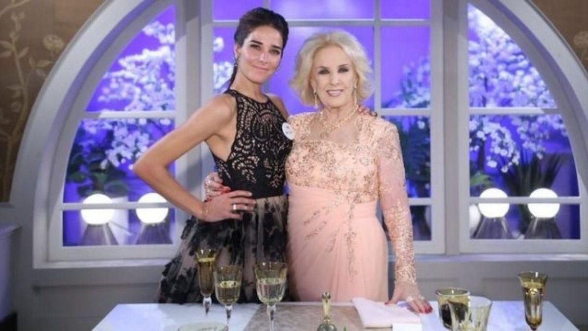 Juana Viale contó cuándo podría volver Mirtha Legrand