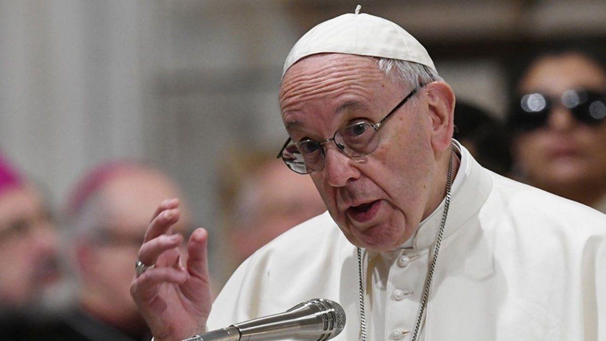 El Papa Francisco pide que la vacuna sea universal
