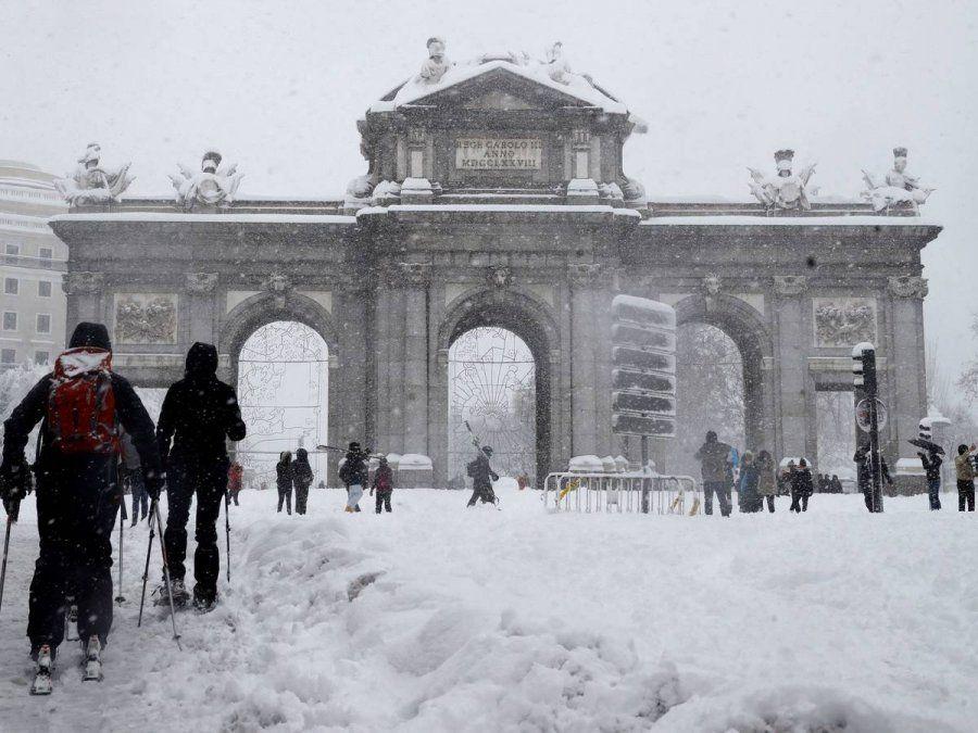 Madrid podría ser declarada zona de desastre por la nevada