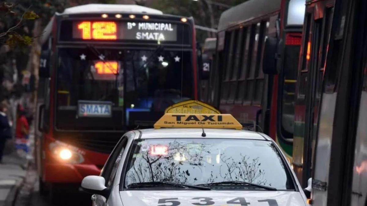 Más caro: desde hoy rige el aumento en colectivos y taxis