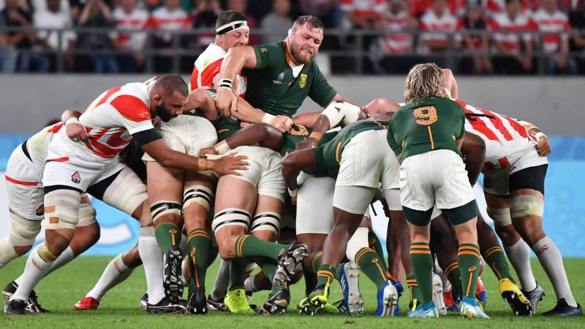Sudáfrica derrotó a Japón y se clasificó a la semifinal