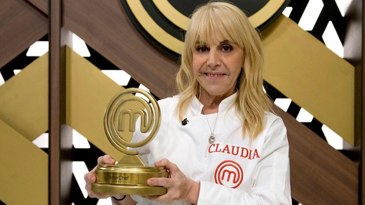 Claudia Villafañe se consagró campeona de Masterchef Celebrity