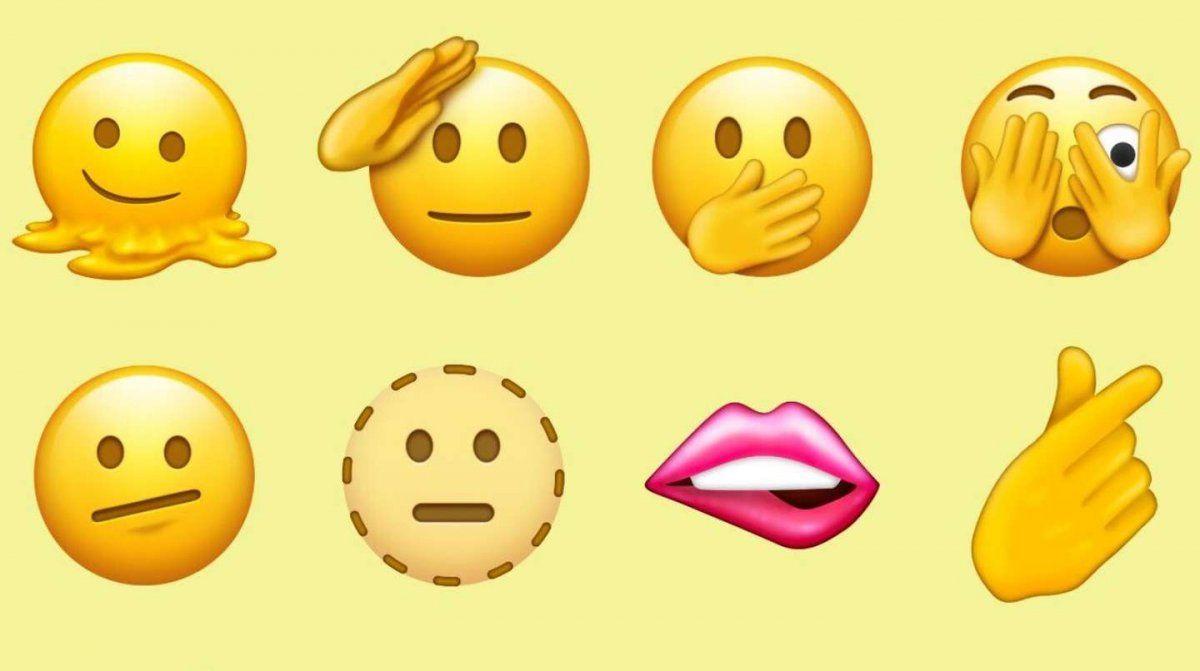 Estos son los 37 nuevos emojis que llegarán en 2022