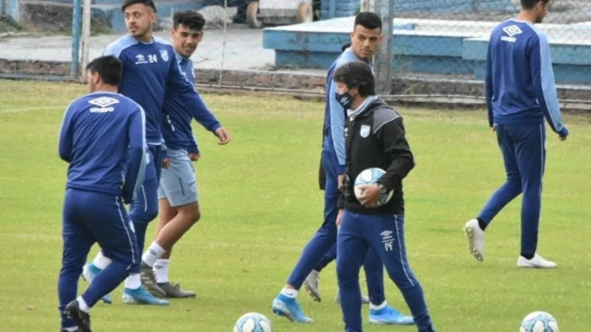 Atlético Tucumán: Práctica de fútbol para cerrar la semana
