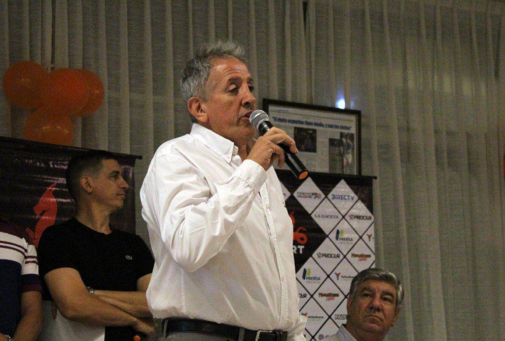 Héctor Corbalán Costilla dijo que se hacen responsables por la gran presencia de público en la final de rugby.
