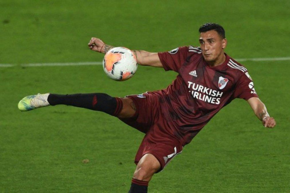 River pierde a Matías Suarez para el cruce con Atlético.