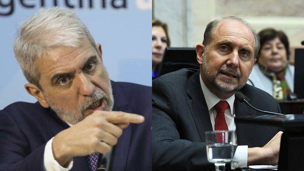 Aníbal Fernández se reunió con Omar Perotti para conocer la situación de Santa Fe