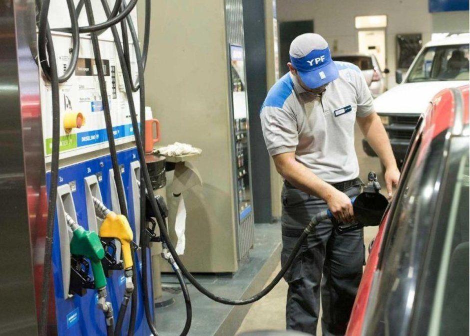 Venta combustibles: sigue 25% debajo del nivel prepandemia