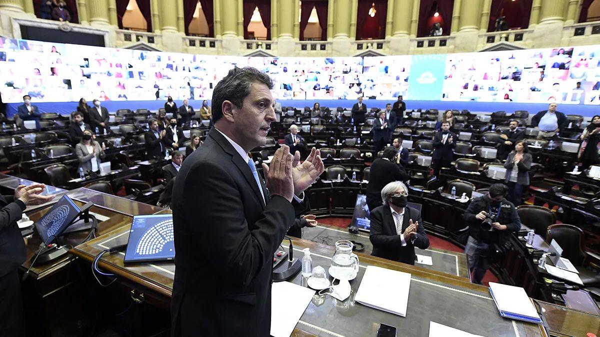 Sigue el debate en Diputados sobre el Presupuesto 2021