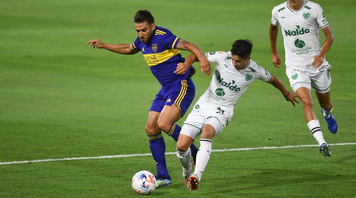 Boca volvió a jugar mal como local y empató con Sarmiento