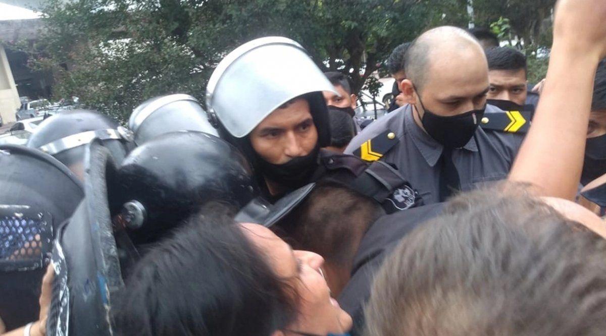 Represión en Jujuy ante el intento de Gastón Remy