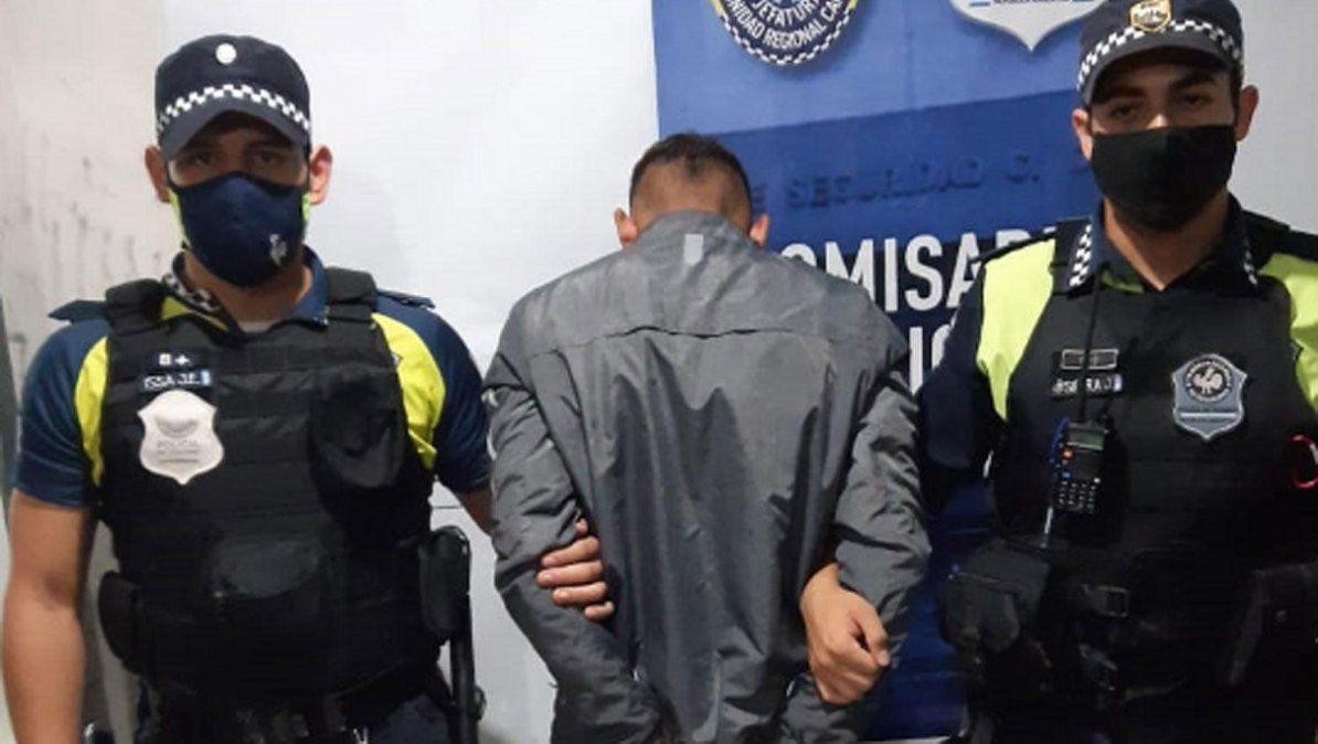 Quedó detenido por el robo de un celular