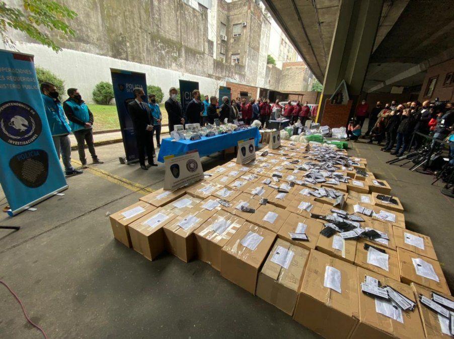 Megaoperativo: desbaratan una red de comercio de barbijos truchos