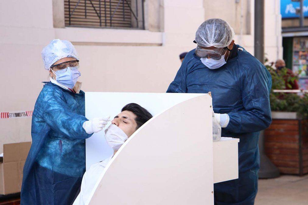Tucumán ya superó los 180 mil contagios de coronavirus. Foto MSPT