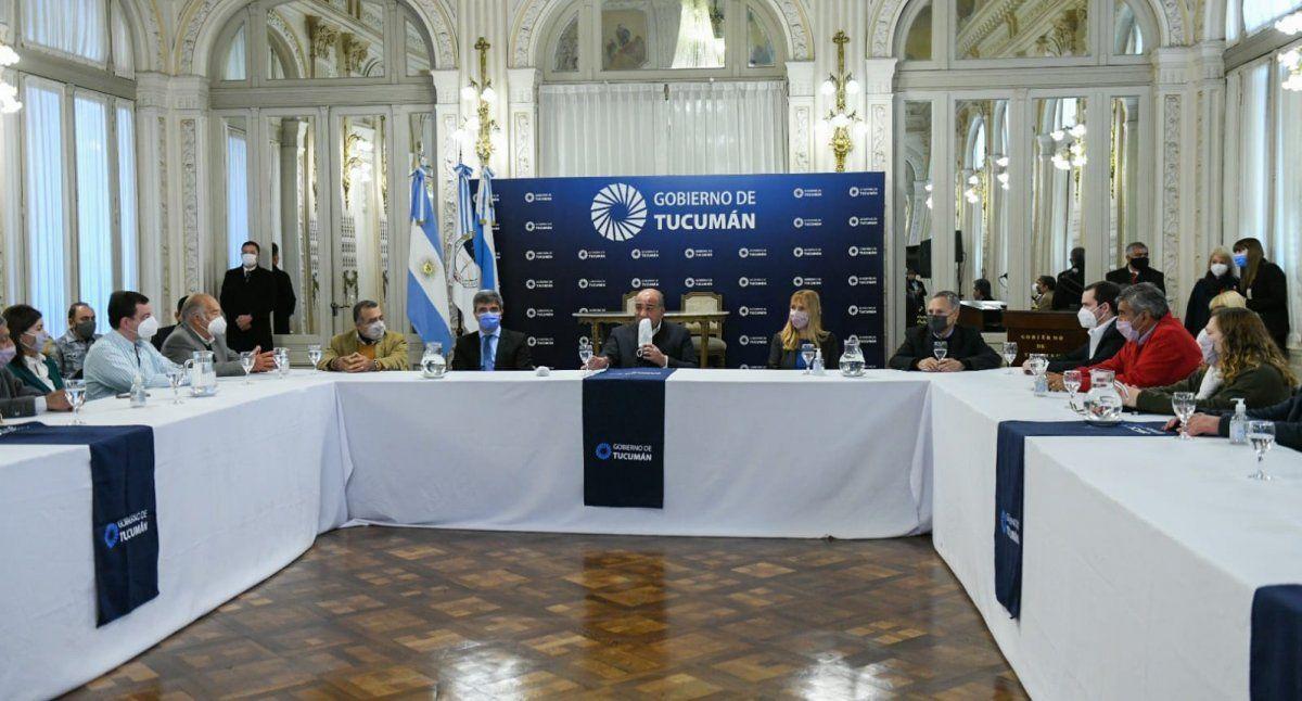 Elecciones: Manzur llamó a consolidar el gobierno de la Nación