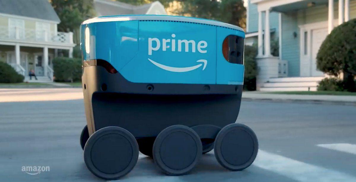 Scout: el robot delivery de Amazon que entrega a domicilio
