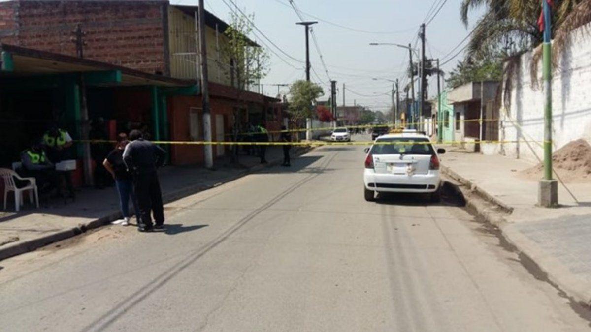 El taxista fue detenido en calle Magallanes al 900