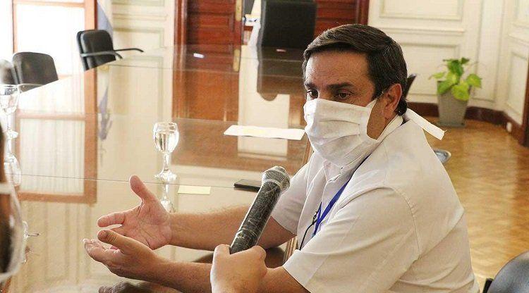 Secretario Ejecutivo Médico del Siprosa, Luis Medina Ruiz - Tucumán.
