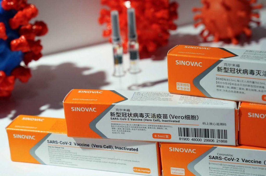Brasil anunció la compra de 46 millones de vacunas chinas