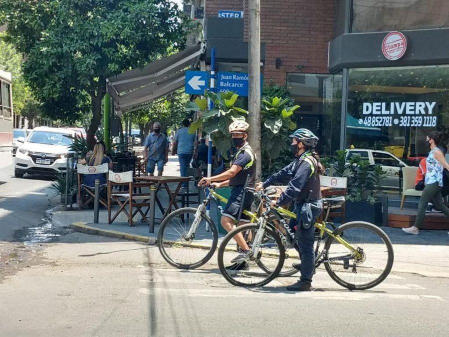 La Policía reforzó los recorridos en Barrio Norte