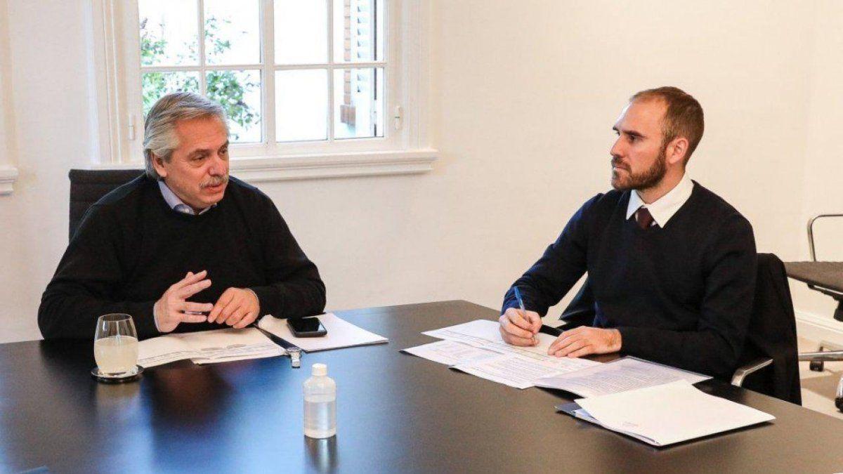 El presidente Alberto Fernández viajará a Europa junto a Guzmán. Foto: elobjetivo.com.ar