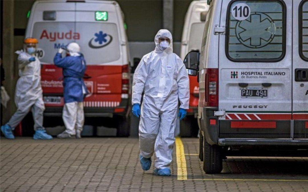 Coronavirus en Argentina: 19.419 nuevos casos y 297 muertes