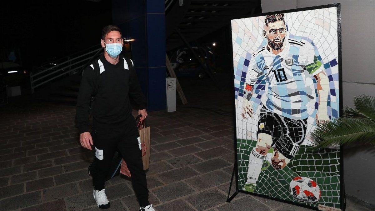 Lionel Messi ya está en la burbuja de Argentina