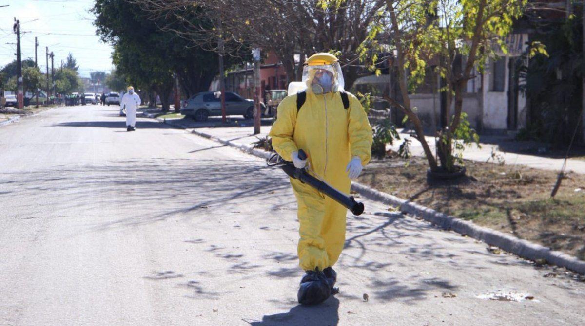 Coronavirus: cuatro casos por contacto estrecho en Tafí Viejo