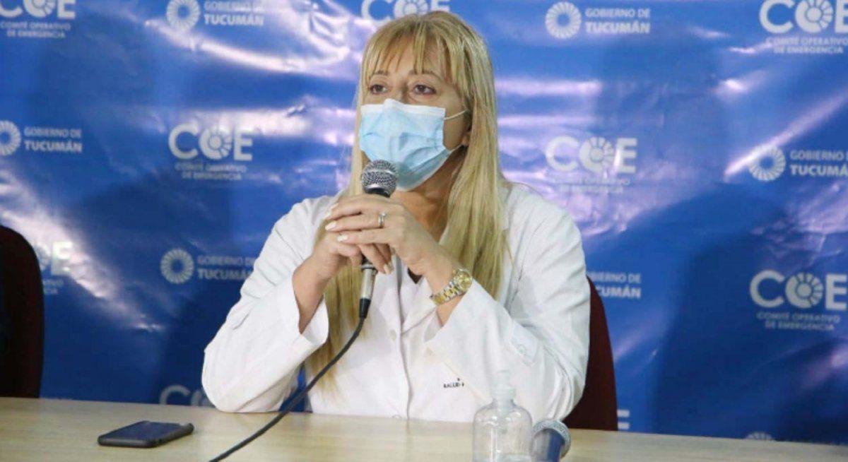 La ministra Rossana Chahla dió negativo al test PCR