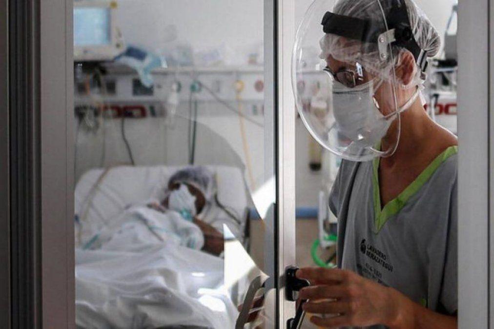 Argentina registró 412 muertos y 12.764 nuevos contagios.